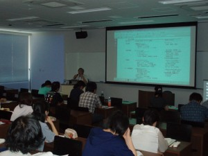 「聴覚障害の指導法概論」の講義