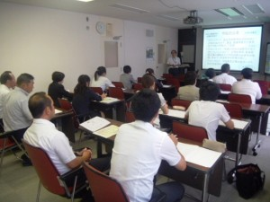 大子町教員による附属久里浜特別支援学校の視察
