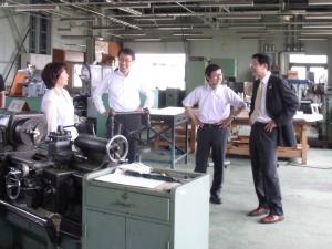 機械加工実習室