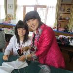 北京理工大学附属高校での授業体験の様子