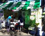賑わった食育推進部会のブース
