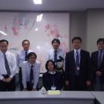 前田さんと東京キャンパス職員