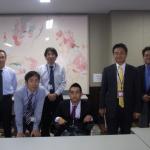 登松さんと東京キャンパス職員