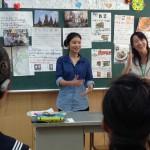 タイ国からの研修生による授業の様子