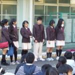 Hwa Chong校からの短期留学生たち