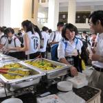 HWA CHONG校でのティーレセプション