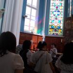 班別行動で訪れた大聖堂
