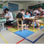 自閉症クラスの授業の様子