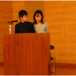 辻本さん親子の講演