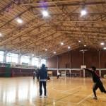 東洋の魔女が練習した広い体育館