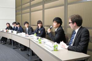 G30 留学生との討論