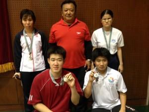日本選手権で活躍した生徒たち
