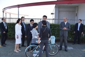 3自転車遊び